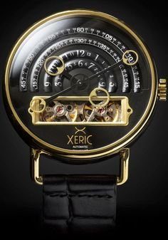 The HALOGRAPH Automatic is a living time machine. YOU are the power source.Don't we find ourselves instinctively drawn to the kinetic nature of a mechanical watch? Its gears transfer force upon one a