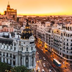 Beautiful city Madrid, Spain... will go back one day <3 Una de las ciudades más bonitas en el mundo