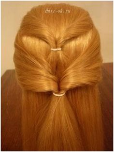 Original hairstyle in 5 minutes. Continued. Figure 5. http://beauty-health.info