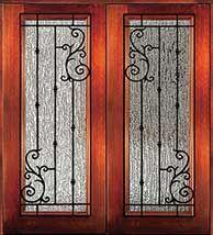 Wrought Iron Doors - Exterior