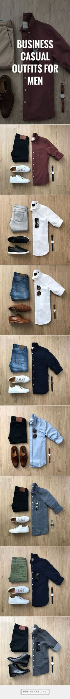 To Business Casual For Men How to wear business casual outfits for men. Everything you need to know about business casual men.How to wear business casual outfits for men. Everything you need to know about business casual men. Business Casual Attire For Men, Trajes Business Casual, Business Outfits, Business Clothes, Business Men, Business Style, Business Travel, Business Ideas, Outfits Casual