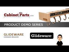CabinetParts.com - Glideware Cookware Organizer - YouTube