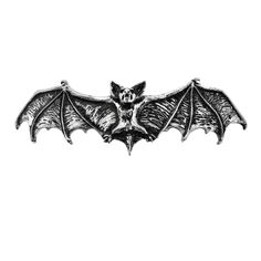 Alchemy Gothic Darkling Bat Hair Slide