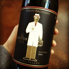 The new 2011 'The Doctor' Red Blend from Krupp Brothers is now available! #Napa #KruppBrothers www.vcnv.com
