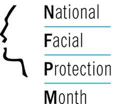 April is National Facial Protection Month | AAOMS American Academy Of Pediatrics, Mouth Guard, Dental Care, Dentistry, Facial, Words, School, Dental Procedures, Facial Care