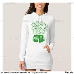 St. Patricks Day Irish Green Beer Shamrock T-Shirt
