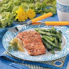 Crusted Salmon ~ Taste of Home