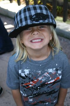 I want our little boy to have long hair and a long board to skate on