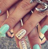 Пирсинг ногтей: фото фото