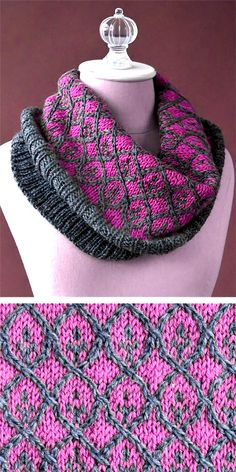 Willowwork Cowl - Free Pattern - List of the most creative DIY and Crafts Knitting Blogs, Knitting Designs, Knitting Patterns Free, Knit Patterns, Free Knitting, Knitting Projects, Free Pattern, Knitting Ideas, Knitted Shawls