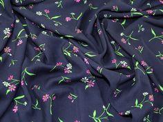 Floral Print Viscose Dress Fabric   Fabric   Dress Fabrics   Minerva Crafts