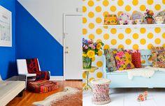 Mudar o ambiente sem mudar móveis e a cor da parede, tem como?