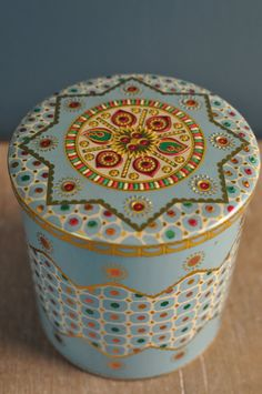 Vintage BARET WARE Jeweled Collectible Tin No. 65 by EuroFair