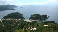 """Corfu is the """"Queen of the Ionian islands"""" Corfu Hotels, Green Scenery, Corfu Greece, The Good Place, Islands, Queen, Vacation, Beach, Places"""