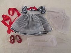 """Little Country Girl Patsy Tonner Doll Outfit Only fits 10"""" Trixie Ann Estelle"""