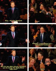 Hey, it's Jon Stewart…