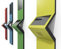 Acis is a single or dual screen wall mounted touchscreen kiosk