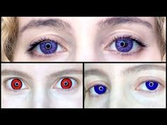Pinky Paradise Contact Lens Review: Get Ready for Halloween - YouTube Purple Contacts, Colored Contacts, Change Your Eye Color, Youtube Halloween, Halloween Contacts, Contact Lens, E30, Life Photo, Violet
