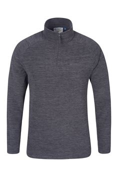 From Mountain Warehouse Snowdon Mens Micro Fleece - Breathable Quick Drying Anti-pill Soft & Smooth Micro Fleece Fabric - Great For Layering Charcoal Large 1920 Women, Coat Sale, Micro Fleece Fabric, Holiday Wear, Mens Fleece, Men Sweater, Casual, Sweaters, How To Wear