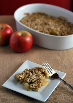 Microwave Apple Crisp - Culinary Mamas