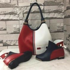 b008147f9 Cute Boots, Shoe Closet, Bootie Boots, Purses And Handbags, Tommy Hilfiger,