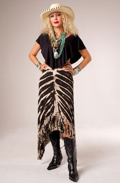 685116ee3f3 Sexy Long Tie Dye Fringed Skirt.  RN9706 Long Ties