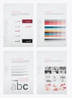 Guidelines / Corporate & Brand Identity - Chempaq, Denmark on the Behance Network Corporate Design, Corporate Branding, Brand Identity Design, Branding Design, Corporate Style, Business Branding, Logo Guidelines, Design Guidelines, Brand Manual