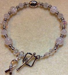 Lung Cancer Awareness Bracelet