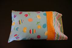 Easter Travel Pillowcase by RusticRanchHands on Etsy