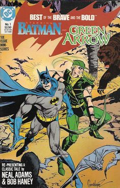 Leading off the series is the classic team-up of Batman and Green Arrow from B&B #85, written by Bob Haney and featuring the art of longtime BRAVE & BOLD penciller Neal Adams. Rounding out the book ar