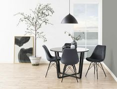 Stół Amble czarny marmur ONE LOVE DESIGN Dining Chairs, Dining Table, Nagano, Velvet, Furniture, Design, Home Decor, Products, Decoration Home