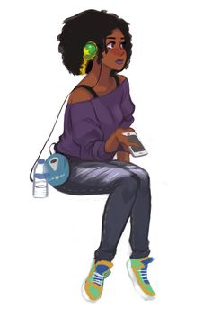 ArtStation - Character Sketches Batch 2 (in progress), Russell Del Socorro Fantasy Character, Female Character Design, Character Design Inspiration, Character Concept, Character Art, Black Girl Art, Black Women Art, Black Girls, Art Girl