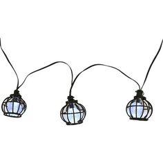 Threshold™ Solar Metal Globe String Lights (20ct)
