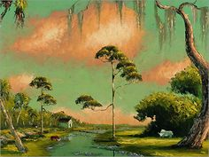 Florida Highwaymen Alfred Hair State Of Florida, Old Florida, African American Artist, American Artists, Speed Paint, Vintage Florida, Hair Painting, New Artists, Sunshine State