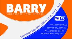 Diseño de Tarjeta Empresarial y Imagen Corporativa: Barry Video Club
