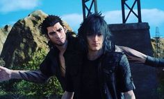 Gladio and Noctis