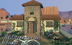 Mediterranean House by Oloriell at Lori Sims