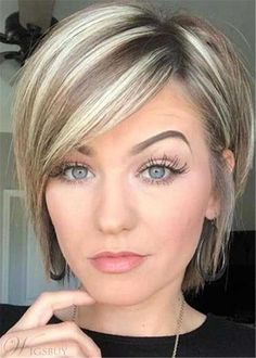Short Layered Side Part Natural Straight Synthetic Hair Wig 12 Inches – Hair Styles Bob Haircut For Fine Hair, Short Hairstyles For Thick Hair, Short Hair With Layers, Curly Hair Styles, Layered Short Hair, Short Haircuts, Short Bobs, Bobs For Fine Hair, Short Shag