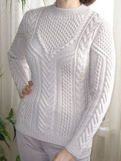 Hand Knitted Sweaters, Sweater Knitting Patterns, Pullover Sweaters, Hand Knitting, Crochet Patterns, Knit Or Crochet, Knitting Needles, Knitting Projects, Sweaters For Women