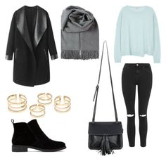 """""""Untitled #416"""" by aatk on Polyvore featuring J Brand, Topshop, Lucky Brand, Columbia, Chicnova Fashion, women's clothing, women's fashion, women, female and woman"""