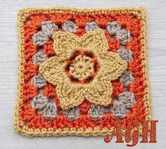 AG Handmades: Golden Harvest, free crochet pattern