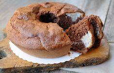 Ciambella alla nutella cuore di cocco, ricetta facile bimby o senza, idea colazione o merenda, dolce soffice facile da realizzare, ciambellone bimby, ripieno di cocco