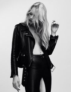 #LeatherJacket #Leather #Style