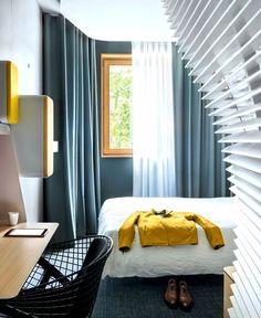 New OKKO Hotel by Patrick Norguet okko #hotel bedroom