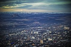 Caucasian Mineral Waters. View from Pyatigorsk Mashuk.
