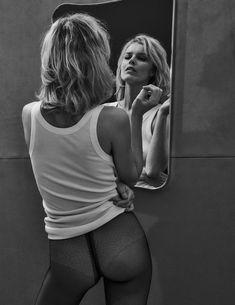Vogue Poland April 2018 Eva Herzigova by Chris Colls