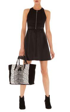 Dresses | Black Signature cotton sateen prom | KarenMillen Stores Limited