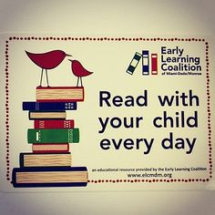 #Read with your #child every day!