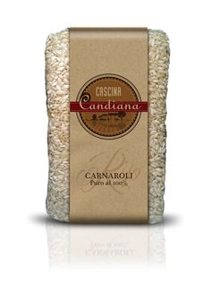 Italian CARNAROLI Rice Cascina Candiana Pavia #Italy #rice #packaging #design j-think.com