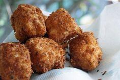 perfect bite --> Deep Fried Macaroni & Cheese